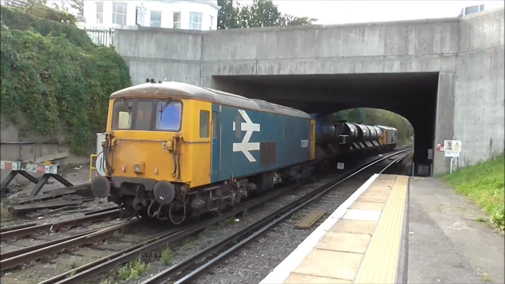 GB Railfreight Class 73 working a RHTT train