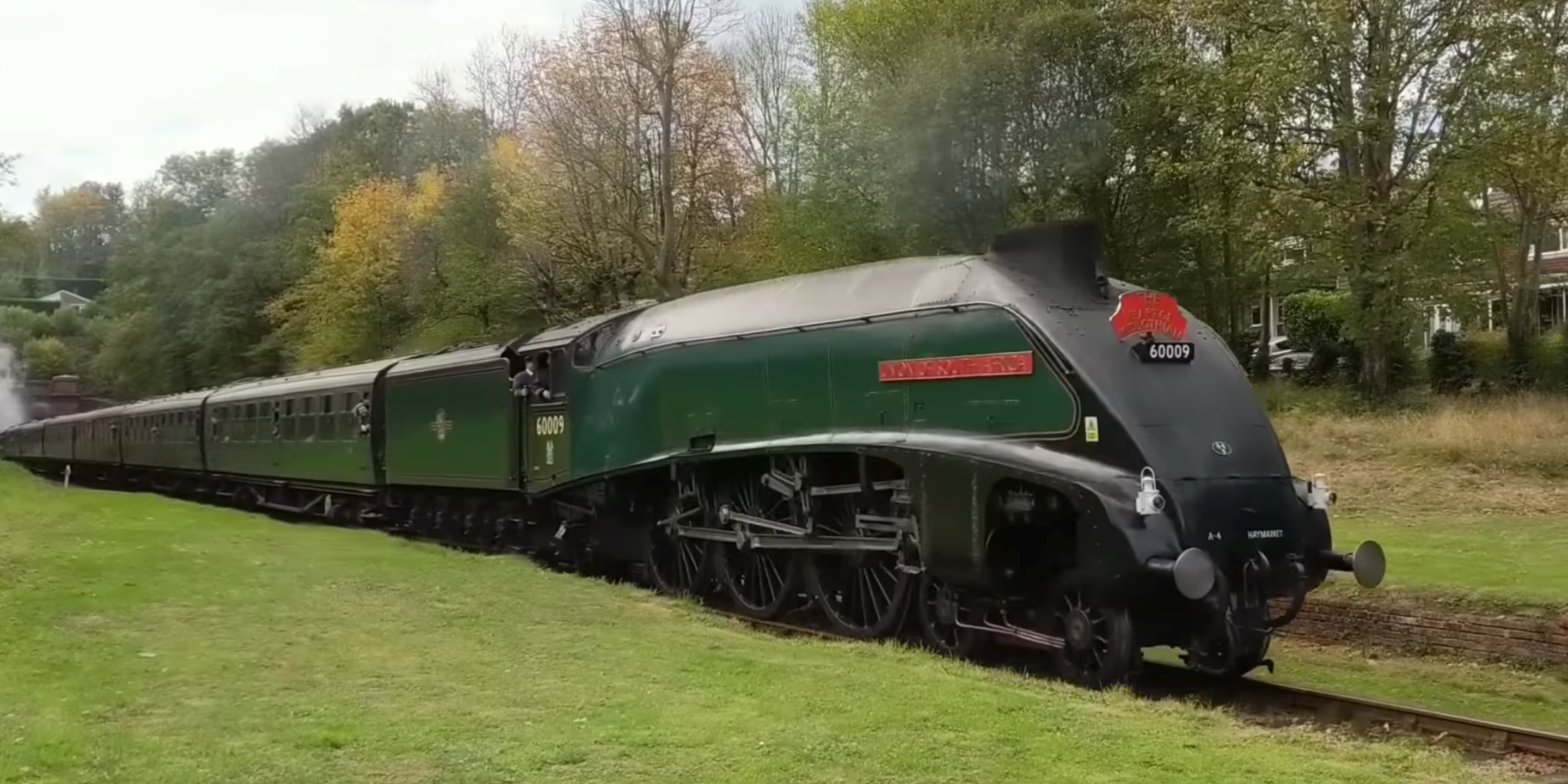 60009 Union of South Africa Sharpthorne Tunnel