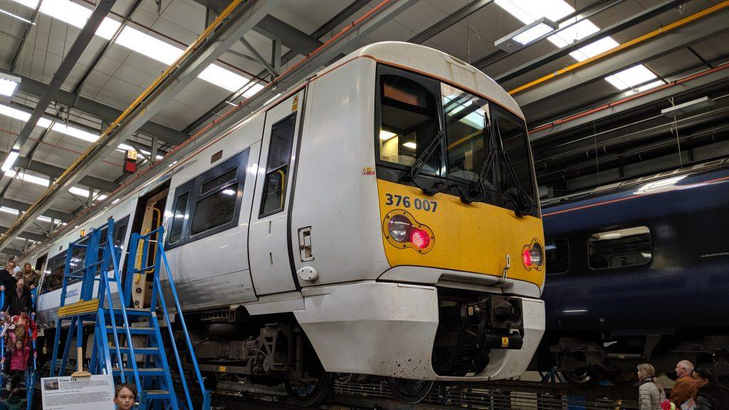 Class 376 Ramsgate Depot