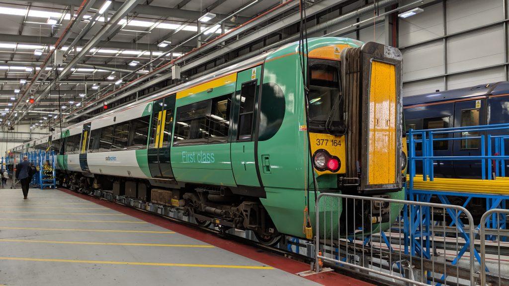 Southern Class 377 Ramsgate Depot