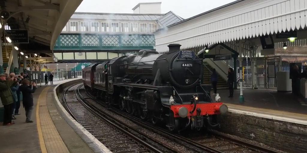 Black Five Steam Locomotive