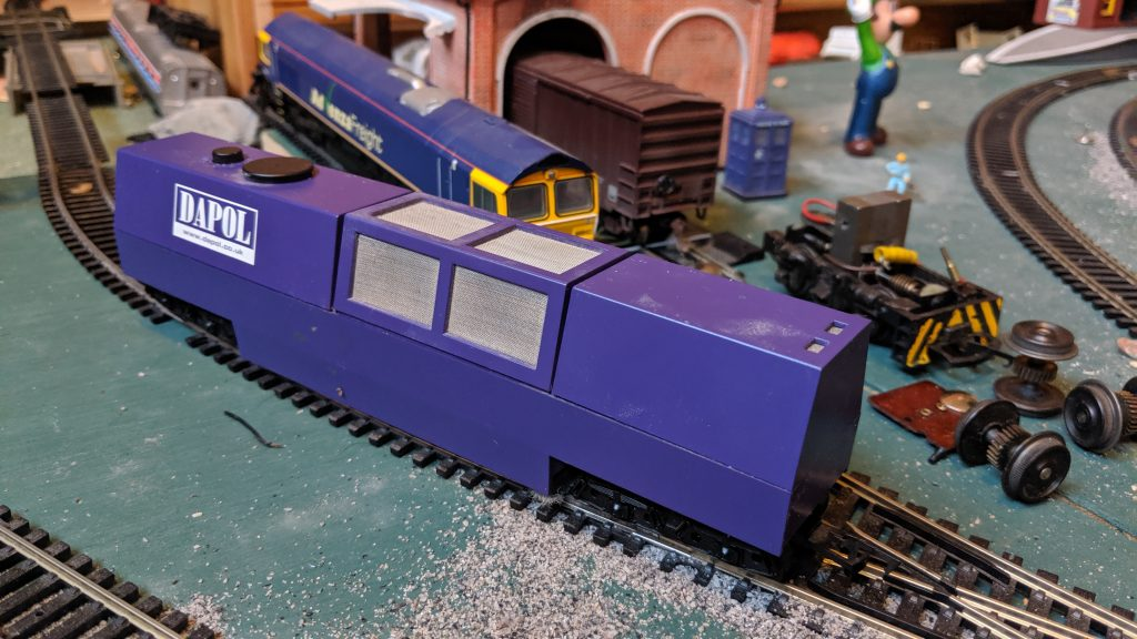 Dapol track cleaning wagon