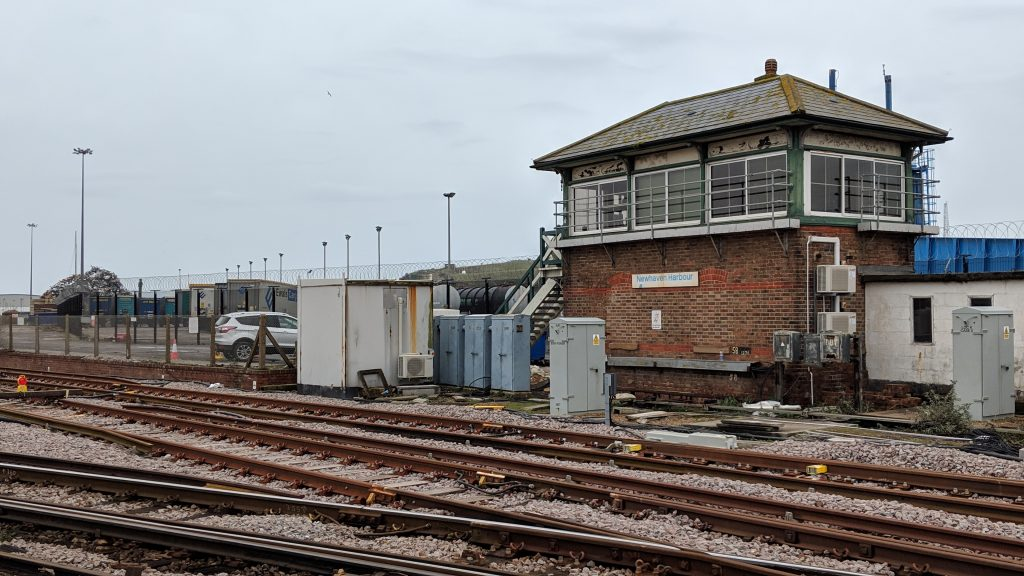 Newhaven Harbour Signal Box