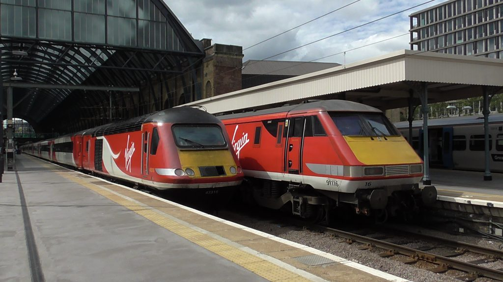 Class 91 at London Kings Cross