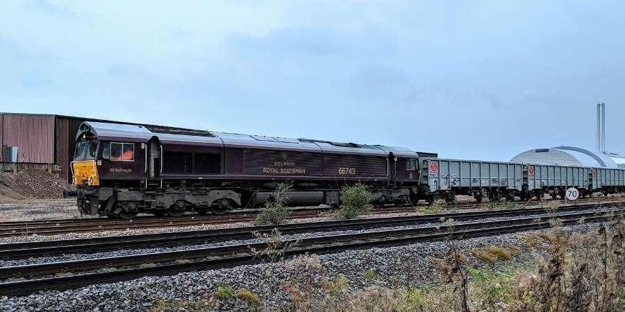 Belmond Royal Scotsman Class 66