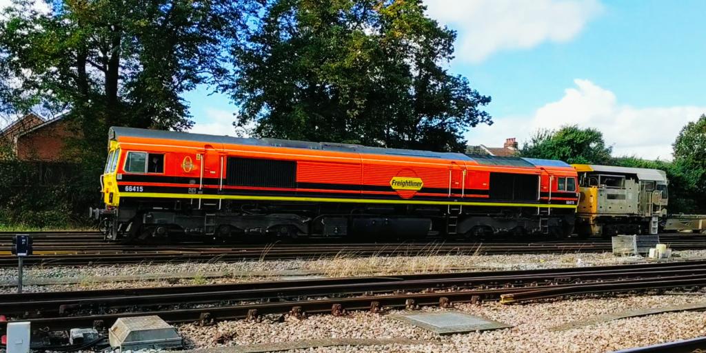 Freightliner Class 66415 G&W Orange