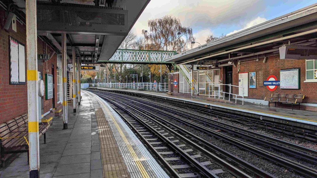 Roding Valley Underground Station