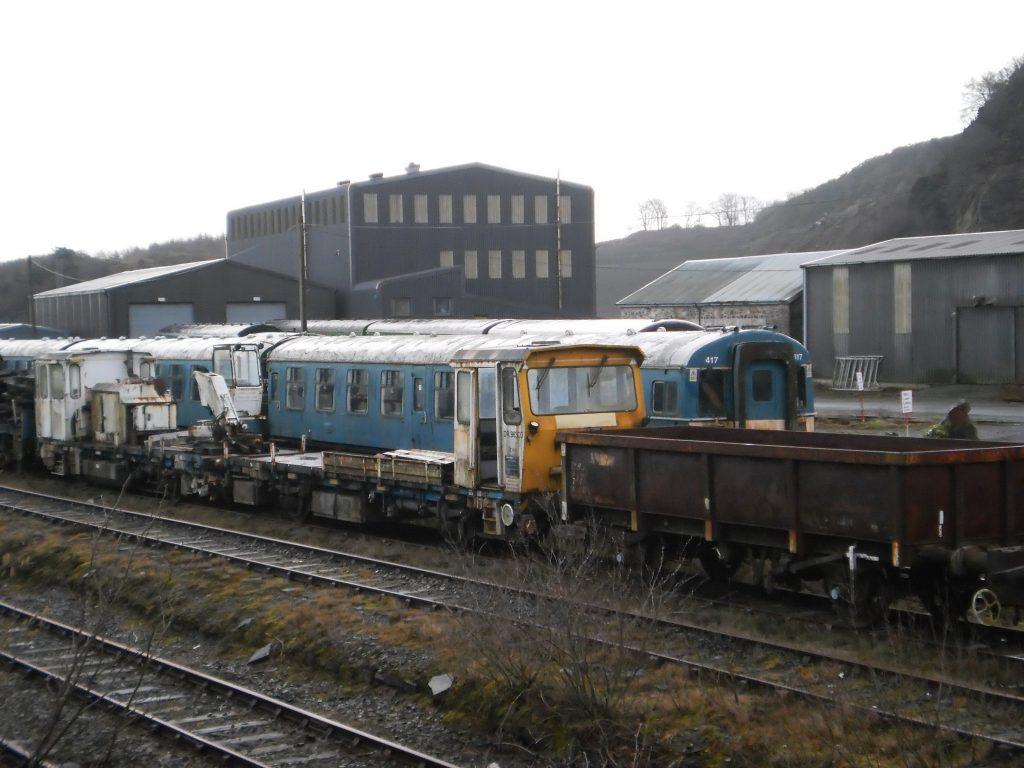 Railway Stock at Meldon