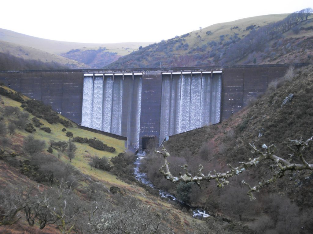 Meldon Dam and Reservior