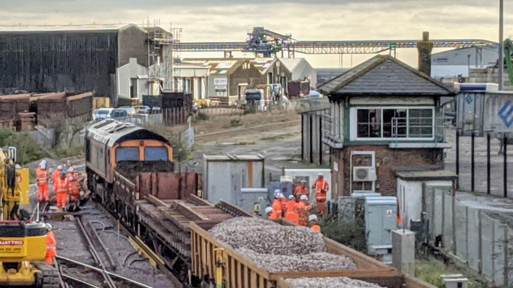 Ballast Train at Newhaven Marine