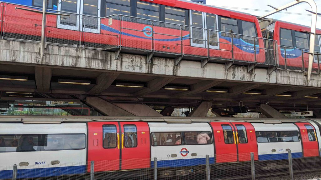 Canning Town Double Decker Platforms