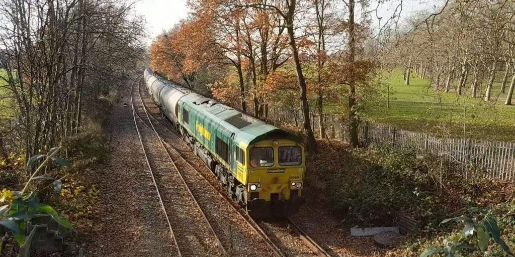 66607 Theale to Hope Cement