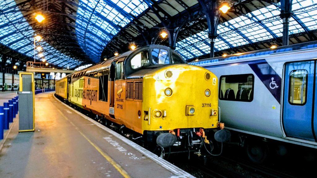 Class 37 at Brighton